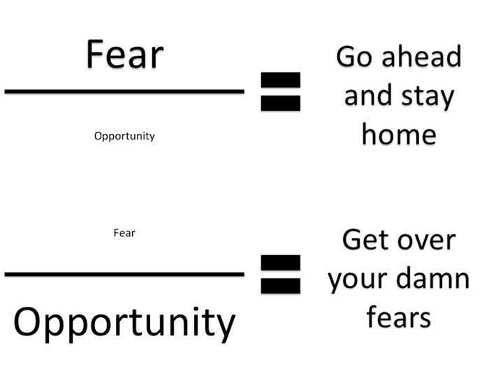 Get over your fears